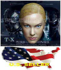 IN STOCK 1/6 Kristanna Loken head sculpt 2.0 Terminator 3 T-X for HotToys Phicen