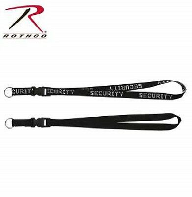 """Security Neck Strap Key Ring Chain Holder Badge Neck Lanyard 32/"""" Rothco 2705"""