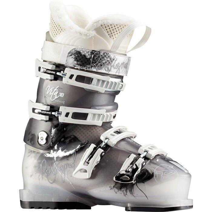 Rossignol Vita Sensor 2 70 New 2012 Womens Ski Boots Size 23.5
