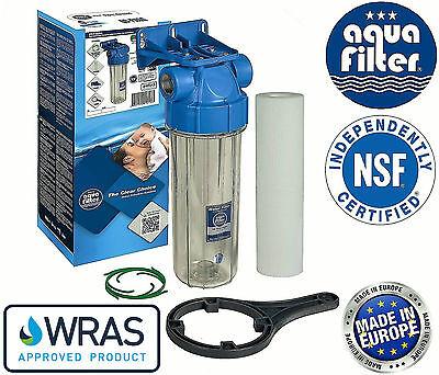 "Learned Aquafilter 10"" Water Other Home Plumbing & Fixtures Biodiesel Filter Housing 3/4"" Bsp Cartridge Bacinix Ring"