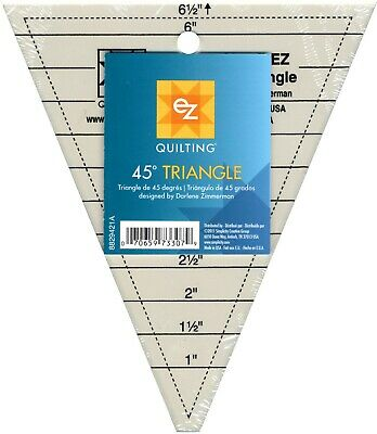 Sew Easy Multi size 45˚ diamond template ruler NL4167