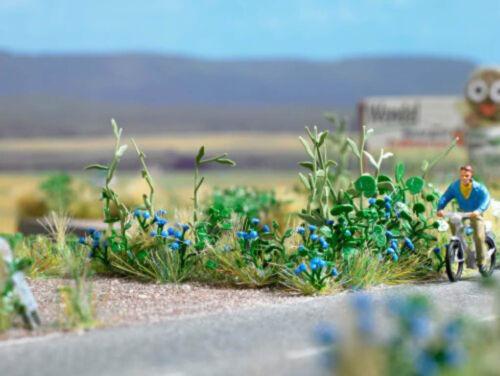 Busch 1262 Korn flores 120 trozo para el borde camino h0 kit nuevo