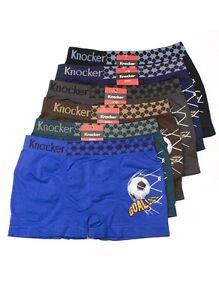 6 Knocker Boys Boxer Seamless Briefs Spandex Kids Shorts Soft Underwear S M L !