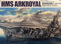 1/700 British Aircraft Carrier Hms Ark Royal & U-81 2015 Aoshima