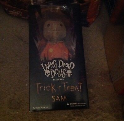 Costruttivo Halloween Living Dead Dolls Sam Trick Or Treat Neuf