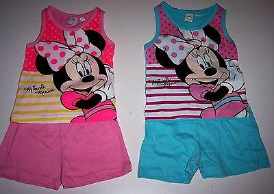 kurze Hose Mädchen US Size 3-6 month Sommer süß Disney Minnie Maus 62//68 Shirt