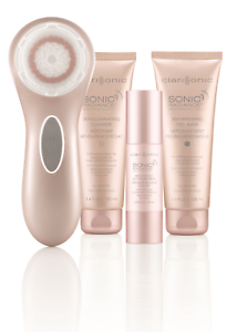 Clarisonic-Sonic-Radiance-Brightening-Complete-Solution-Pink-Colour-New-in-Box