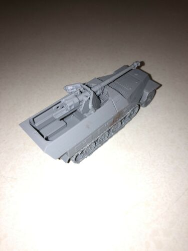 World War 2 German 251//22 75 mm Pakwagen suitable for Bolt Action 3 D print