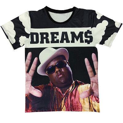 TS687 Mens T-Shirt NOTORIOUS 96 Bandana Style Urban Fresh Real Dope 2pac Biggie