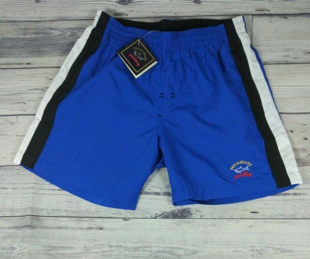 Paul /& Shark Yachting swimming trunks bermuda shorts size 4XL navy blue