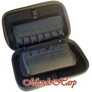 Seydel-Harmonica-Case-920000b-Hardcover-Case-for-20-Harmonicas-and-More-NEW