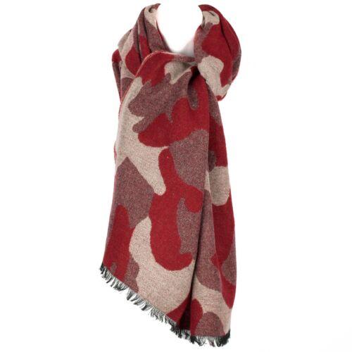 Luxury Mens Womens Unisex Camouflage Pattern Winter Scarf