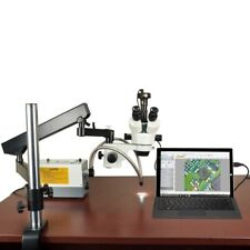 Omax 21x 270x Stereo Microscopearticulat Arm Standcold Light90mp Usb Camera