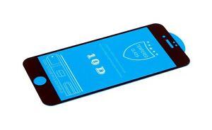 iPhone 7 Plus Display LCD Panzerfolie Hartglas Schutzfolie glas 10D 9H schwarz