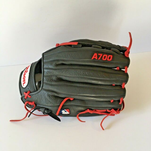 "Wilson A0700 BRS ~ Limited Ed A700 Boston Red Sox Glove 12/"" ~ très belle!"