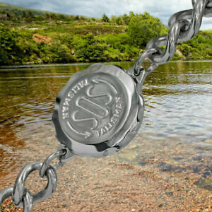 SOS-Talisman-Genuine-STAINLESS-STEEL-Medical-Bracelet-Mans-Mens-Gents-PEN
