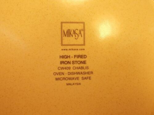 "Mikasa China Chablis CW409 Pattern Square Salad Plate 8 5//8/"""