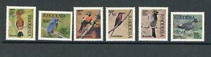 Rhodesia MiNr. 108-113 postfrisch MNH Vögel (Vög2781