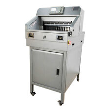 18 Paper Cutter Automatic Paper Cutting Machine Infrared Laser Dual Rail 110v