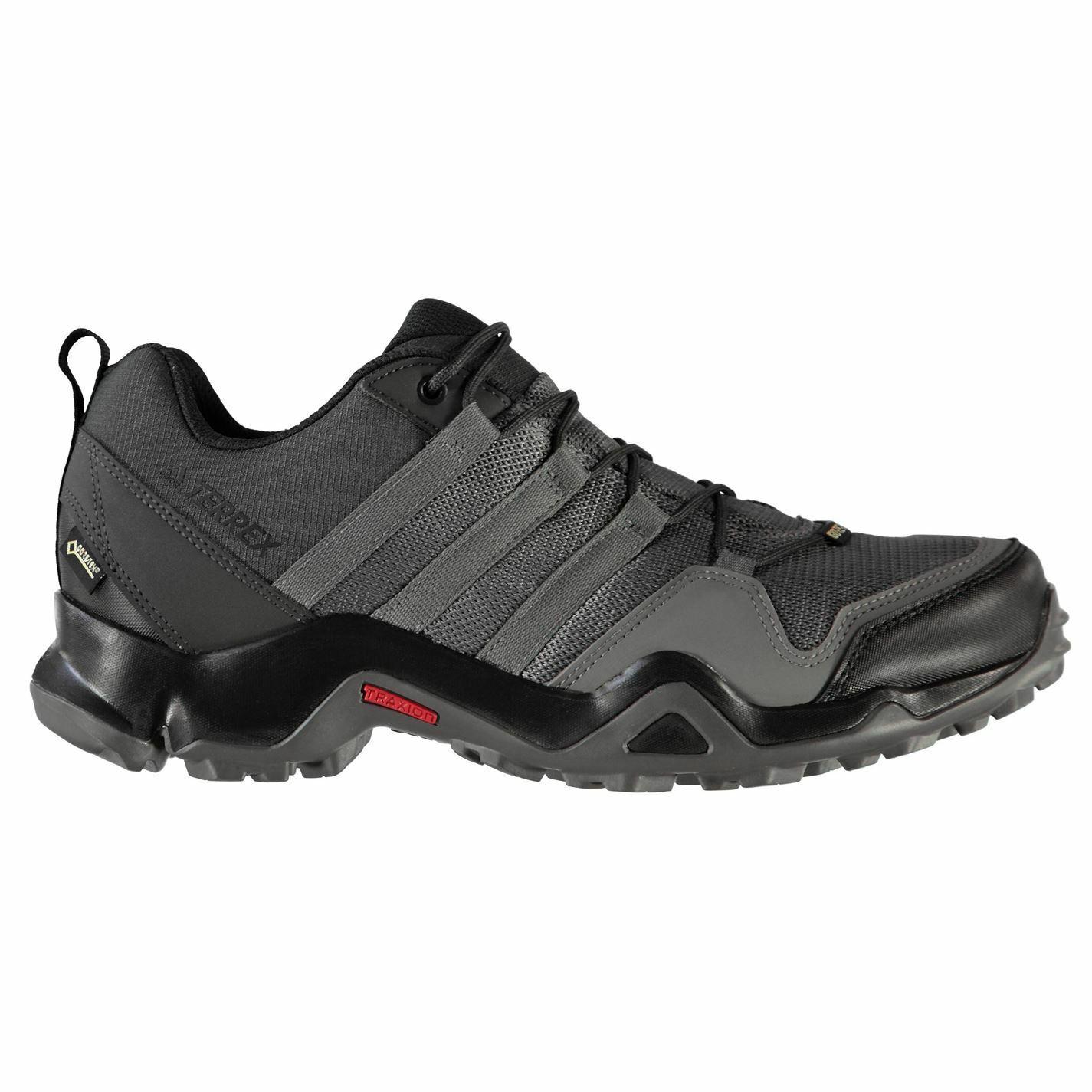 Adidas mannens TERREX AX2R GTX wandelen schoenen WaterBesteendig Lace Up Adembbare Gore Tex