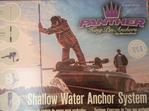 """SHALLOW WATER ANCHOR SYSTEM 3/"""" BOW MOUNT 781 KPB30A PANTHER KING PIN ALUMINUM"""