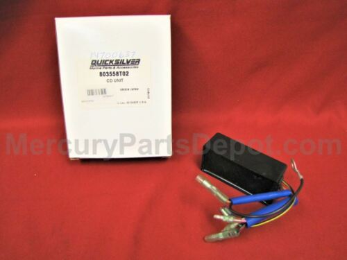 Part # 803558T02 New Mercury CD Unit