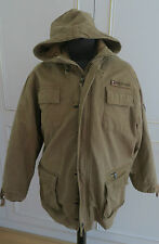 Tommy Hilfiger sez-sez 85 field hooded country military jacket coat S UK38EUR42