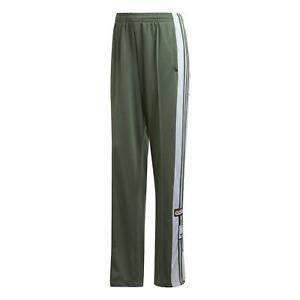 adidas-ORIGINALS-WOMEN-039-S-ADIBREAK-TRACK-PANTS-GREEN-RETRO-POPPERS-BOTTOMS-90S