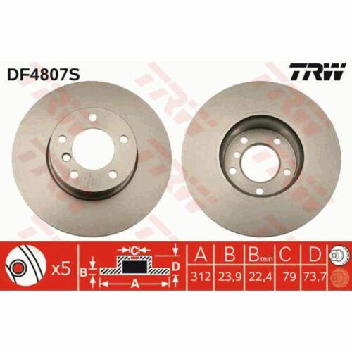 Bremsscheibe 1 Stück TRW DF4807S
