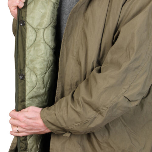 US M51 Parka with Liner Winter Cold Weather Coat Removable Liner Fishtail New