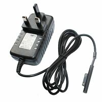 UK Plug AC Wall Charger 12V Power Supply Adapter for Microsoft Surface Pro 3 tab