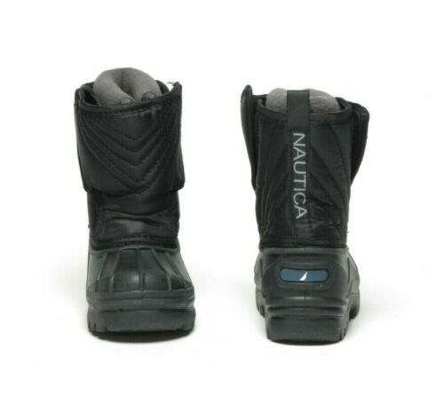 NAUTICA Toddlers Snow Weather Boot NT127K Black//Black