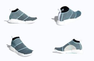 24f1286e394d4 Adidas Originals NMD CS1 Parley PK Shoes Black   Blue Mens Size 11 ...