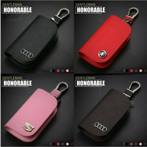 Car-key-bag-Car-Smart-KeyChain-Keyring-Wallet-Zipper-Case-Auto-Remote-Key-Fob