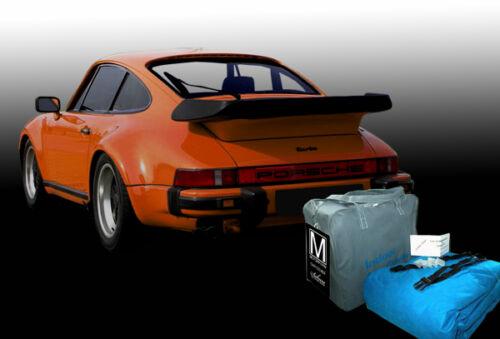 Porsche 911 turbo 930 muy garaje car Cover Funda de coche
