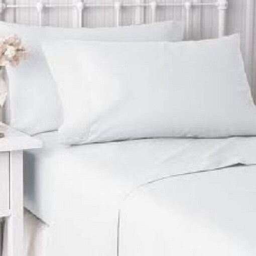 24  new  pillow cases covers standard size 20''x30'' bright white t-180 hotel