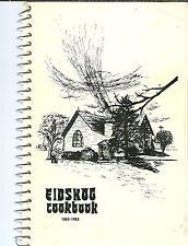 ORTONVILLE, MINNESOTA COOKBOOK - EIDSKOG LUTHERAN CHURCH - 1985 - SCANDINAVIAN