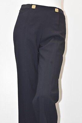 NWOT CAbi #968 PR Trouser Size 8 Midnight in Paris $108 Womens Pants Dress Navy