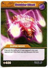 Boulder Blast #62 Dinosaur King Alpha Dinosaurs Attack TCG Card (C366)