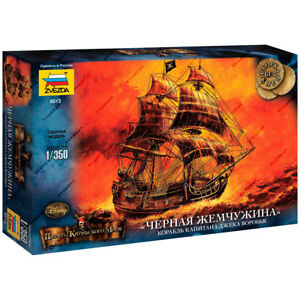 ZVEZDA-6513-Model-Kit-034-Black-Pearl-Jack-Sparrow-ship-Pirates-of-the-Caribbean-034