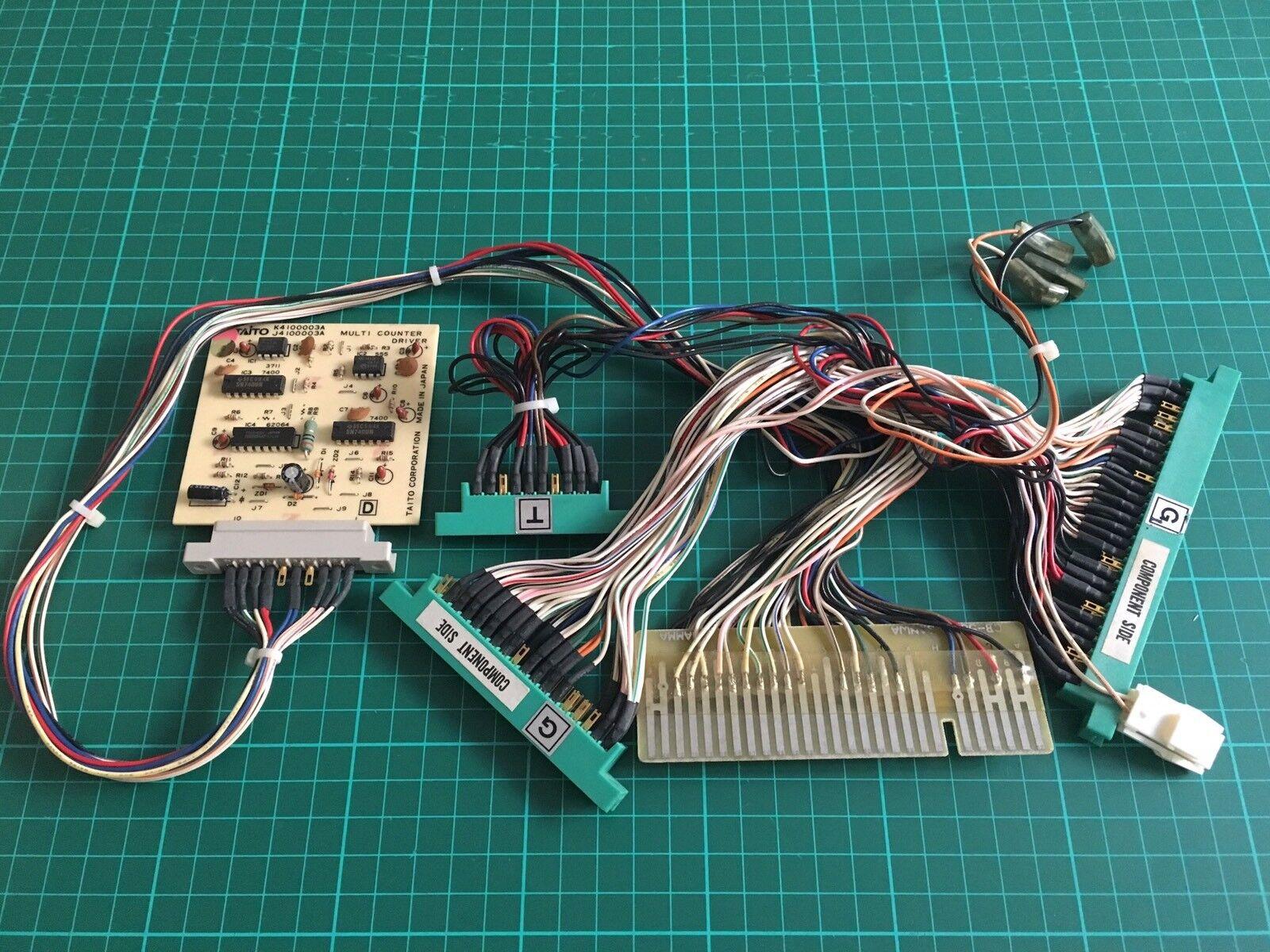 Adapter Jamma To Non Jamma Pcb  Original Taito Egret 29   Canary Borne Are