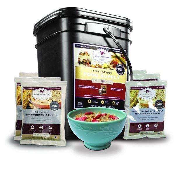 Wise Entree & Breakfast Emergency Food Storage