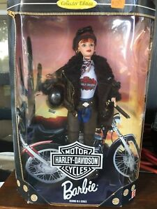 1998-Harley-Davidson-Barbie-Doll-Mattel-New-Collector-Edition-Second-20441