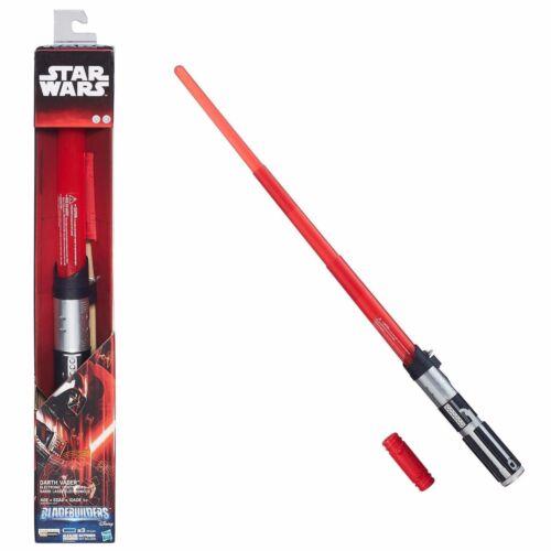 LIGHT /& SOUND NEW Manuf. Disc STAR WARS Darth Vader ELECTRONIC LIGHTSABER