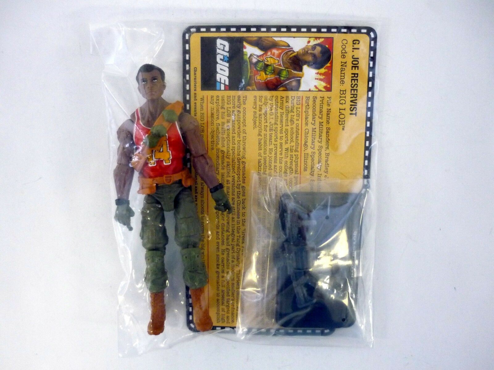 GI JOE BIG LOB Collector's Club Action Figure Exclusive SEALED C9+ v2 2017