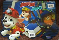 PAW PATROL - Chase, Marshall and Rubble -11x17 3D Lenticular Place Mat / Posters