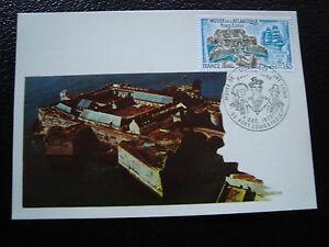 FRANCE-carte-1er-jour-4-12-1976-port-louis-musee-de-l-atlantique-cy42