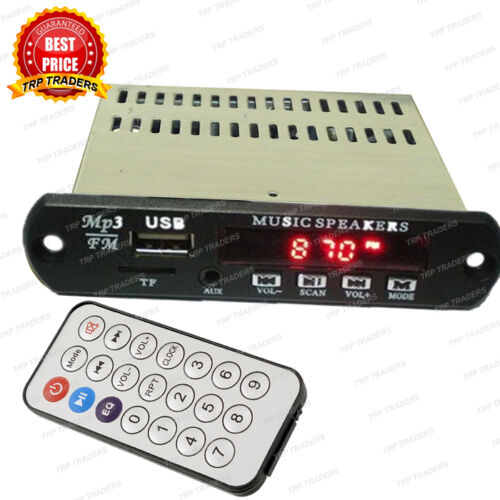 Stereo music audio kit fm usbauxcard mp3 decoder module panel mini stereo audio amplifier mp3 player modulecard usb fm radio aux in remote malvernweather Choice Image