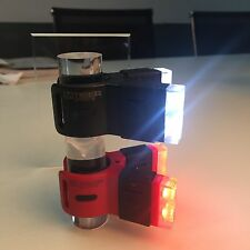 Bright LED Bike Tail & Front light 60 Lumens Clip Design USB Charging Easy Fit
