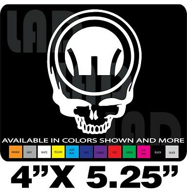Lower Punisher Skull Decals5.56 Stickers2nd Amendment USA White 3x